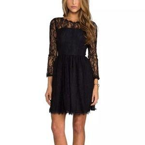 Juicy Couture Delicate Black Lace Dress